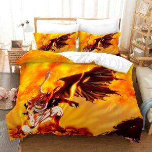 Housse De Couette Fairy Tail Ailes du Dragon de Feu