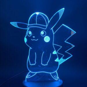 Lampe Pokémon Pikachu Casquette