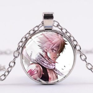 Collier Fairy Tail Natsu Fils d'Ignir