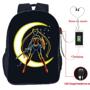 Sac A Dos Sailor Moon Wonder Woman