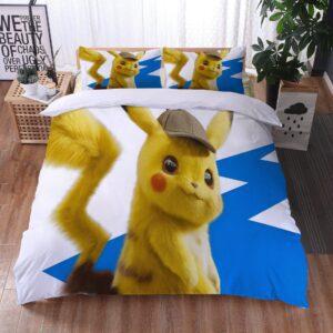 Housse De Couette Pokémon Pikachu Enquêteur