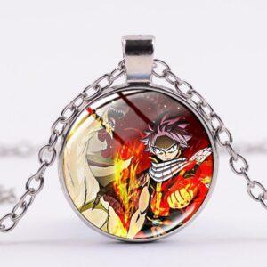 Collier Fairy Tail La Salamandre