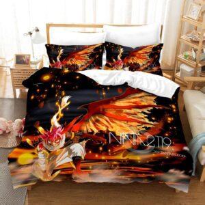 Housse De Couette Fairy Tail Natsu Dragon