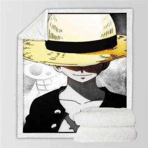 Plaid One Piece Noir et Blanc