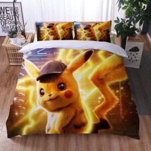 Housse De Couette Pokémon Pikachu Enquête