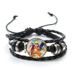 Bracelet Naruto Équipe 7