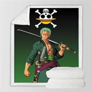 Plaid One Piece Roronoa Zoro