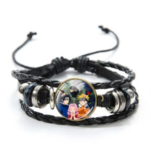 Bracelet Naruto Équipe Kakashi
