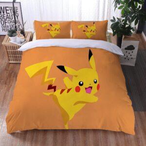 Housse De Couette Pokémon Pika Pikachu