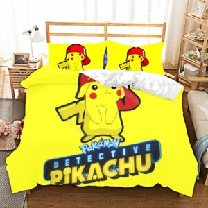 Housse De Couette Pokémon Pikachu Street