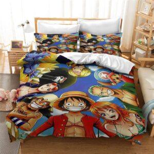 Housse De Couette One Piece L'Équipage du Chapeau de Paille