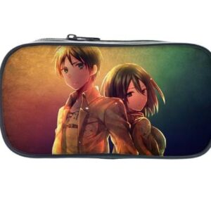 Trousse L'attaque Des Titans Eren et Mikasa
