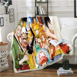 Plaid One Piece Mugiwara no Ichimi