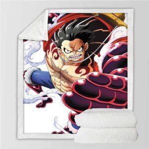 Plaid One Piece Luffy Gear 4 : Bound Man