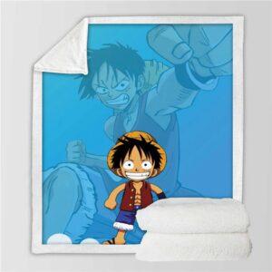 Plaid One Piece Captain Luffy