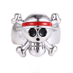 Bague One Piece Luffy Jolly Roger