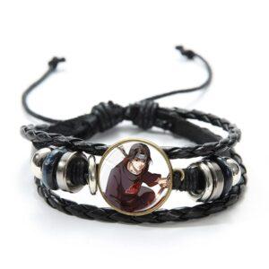 Bracelet Naruto Itachi Uchiwa