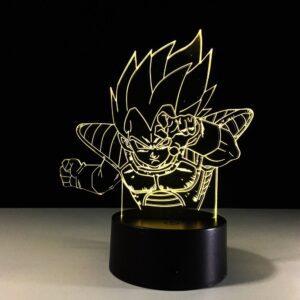 Lampe DBZ Vegeta Super Guerrier