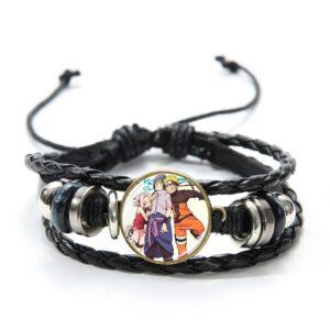 Bracelet Naruto Sasuke et Sakura