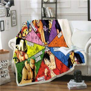 Plaid One Piece L'Équipage du Chapeau de Paille