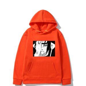 Pull Naruto Itachi Œil Douloureux Orange