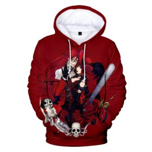 Pull Black Butler Grell x Madam Red