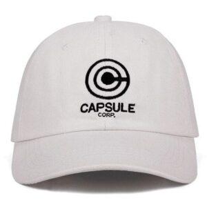Casquette Dragon Ball Capsule Corp Blanc