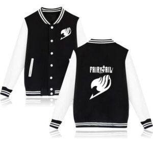 Veste Fairy Tail Emblème Noir et Blanc