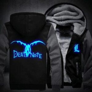 Veste Death Note Ryuk Noir et Gris