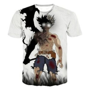 T-Shirt Black Clover Asta Démon