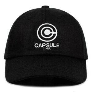 Casquette Dragon Ball Capsule Corp Noir