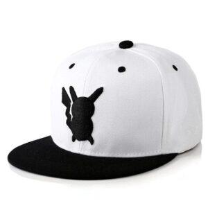 Casquette Pokémon Pikachu Blanc