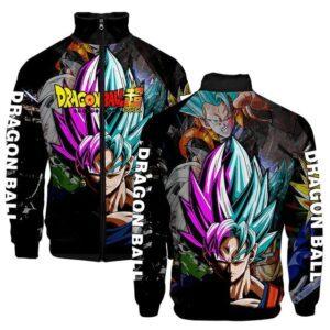 Veste Dragon Ball Super Goku x Black Goku