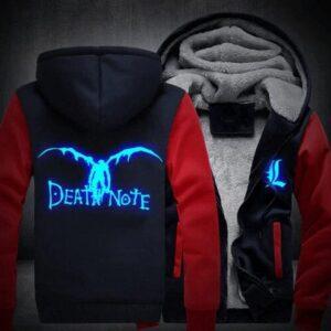 Veste Death Note Ryuk Bleu et Rouge