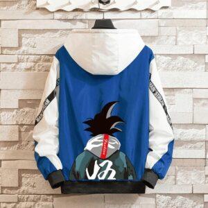 Veste Dragon Ball Z Coupe-Vent Bleu