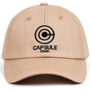 Casquette Dragon Ball Capsule Corp Beige