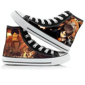 Chaussures L'attaque Des Titans Eren Yeager