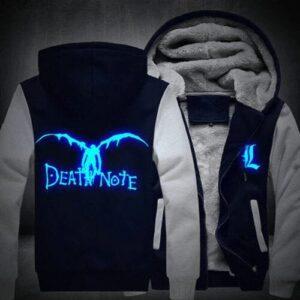 Veste Death Note Ryuk Bleu et Blanc