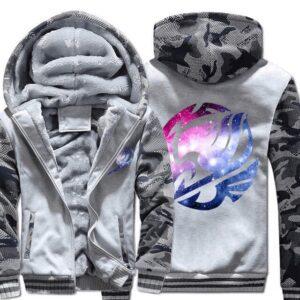 Veste Fairy Tail Logo Blanc et Gris