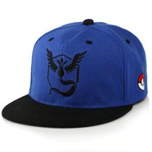 Casquette Pokémon Sagesse Bleu