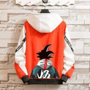 Veste Dragon Ball Z Coupe-Vent Orange