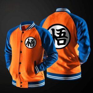 Veste Dragon Ball Z Goku Kanji Orange