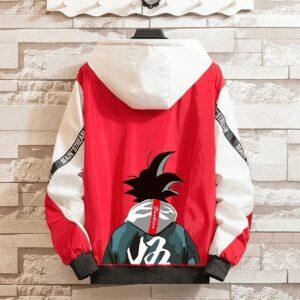 Veste Dragon Ball Z Coupe-Vent Rouge