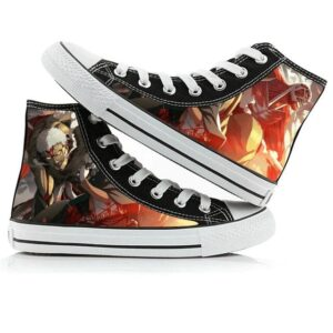 Chaussures Shingeki no Kyojin Titan Colossal et Cuirassé