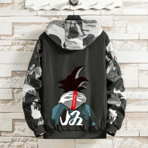 Veste Dragon Ball Z Coupe-Vent Camouflage