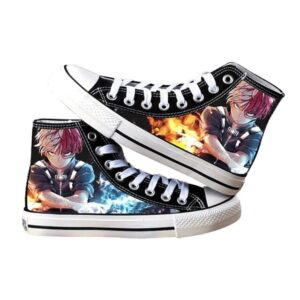 Chaussures My Hero Academia Shoto Feu et Glace