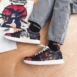 Chaussures Naruto Itachi Uchiwa