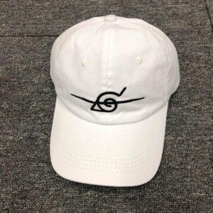 Casquette Naruto Déserteur Konoha Blanc