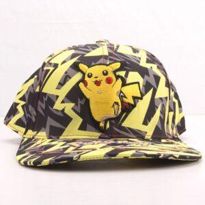 Casquette Pokémon Pikachu Éclair