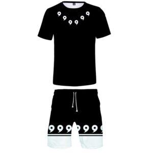 Pyjama Naruto Magatama Full Black